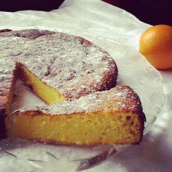 Reteta zilei - Prajitura marocana cu portogale si migdale