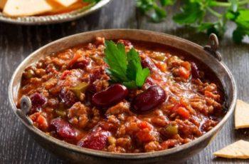 mancare mexicana- chili con carne